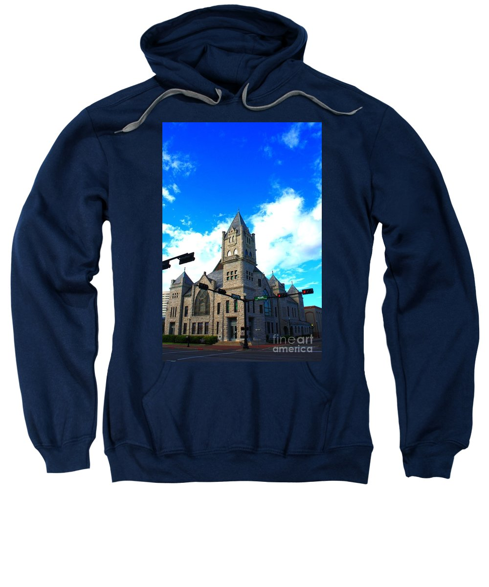 Castle Sweatshirt featuring the photograph Miniature Castle by John W Smith III