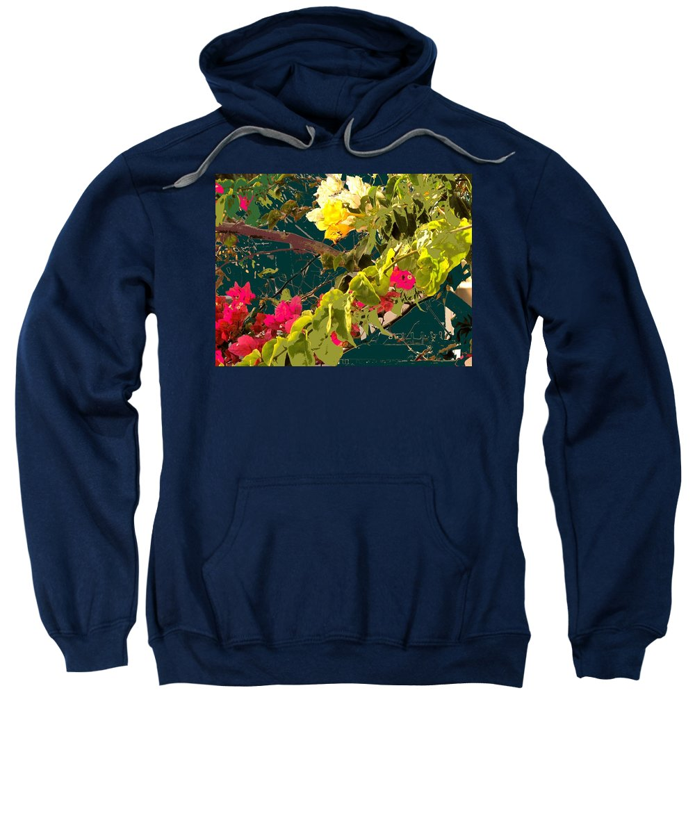 Sweatshirt featuring the photograph Monica by Ian MacDonald