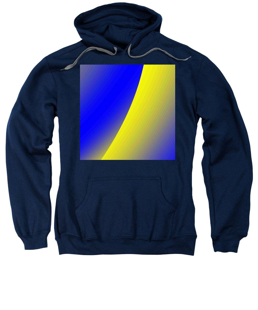 Digital Art Sweatshirt featuring the digital art moon I by Dragica Micki Fortuna