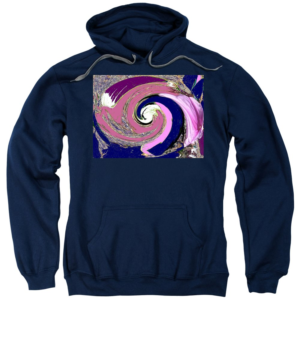 Abstract Sweatshirt featuring the photograph Mystic by Ian MacDonald