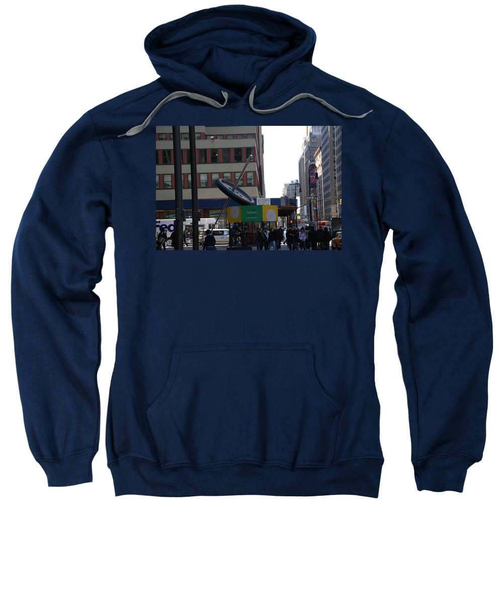 City Scape Sweatshirt featuring the photograph Needle Button by Rob Hans