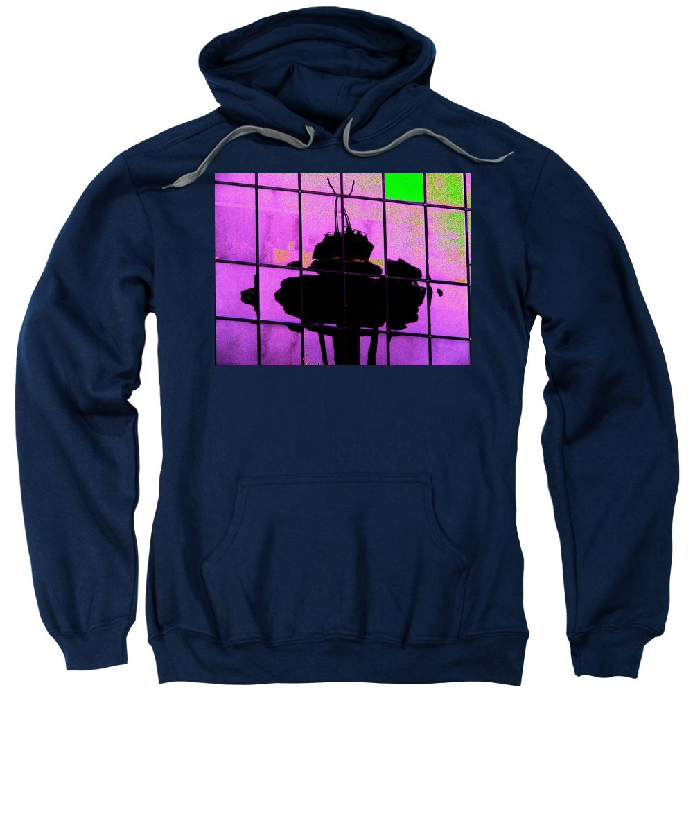 Seattle Sweatshirt featuring the digital art Needle Reflect 2 by Tim Allen