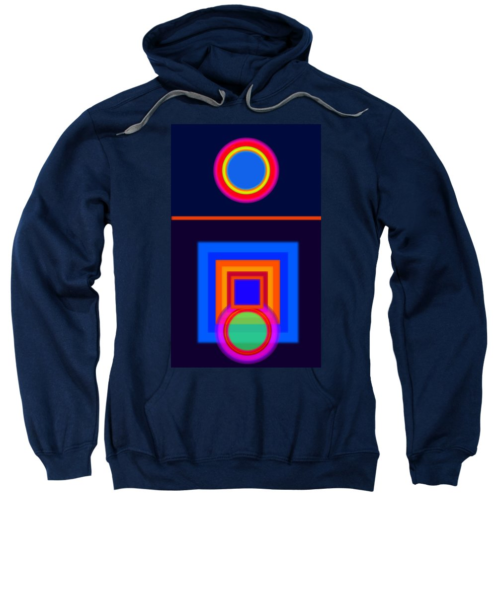 Classical Sweatshirt featuring the painting Neo-classical Cool by Charles Stuart