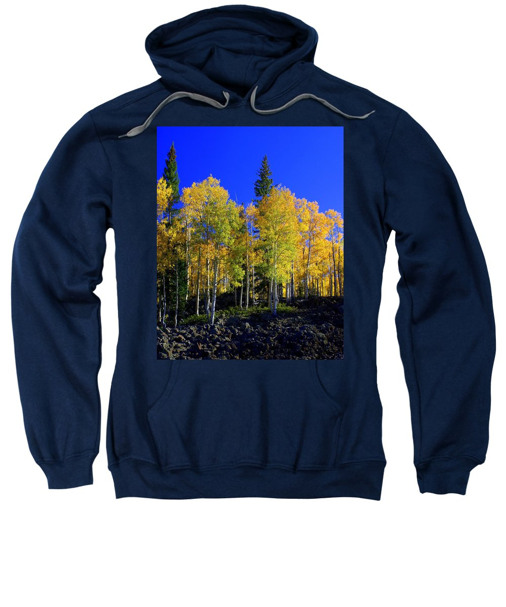 Fall Colors Sweatshirt featuring the photograph Nevada Fall by Marty Koch