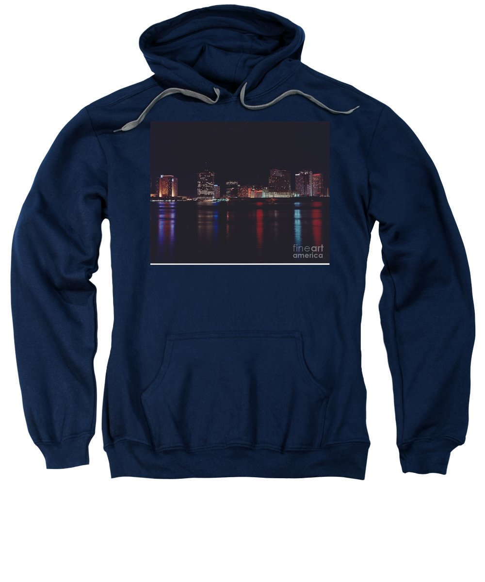 Night Scape Sweatshirt featuring the photograph Night Scape by Michelle Powell
