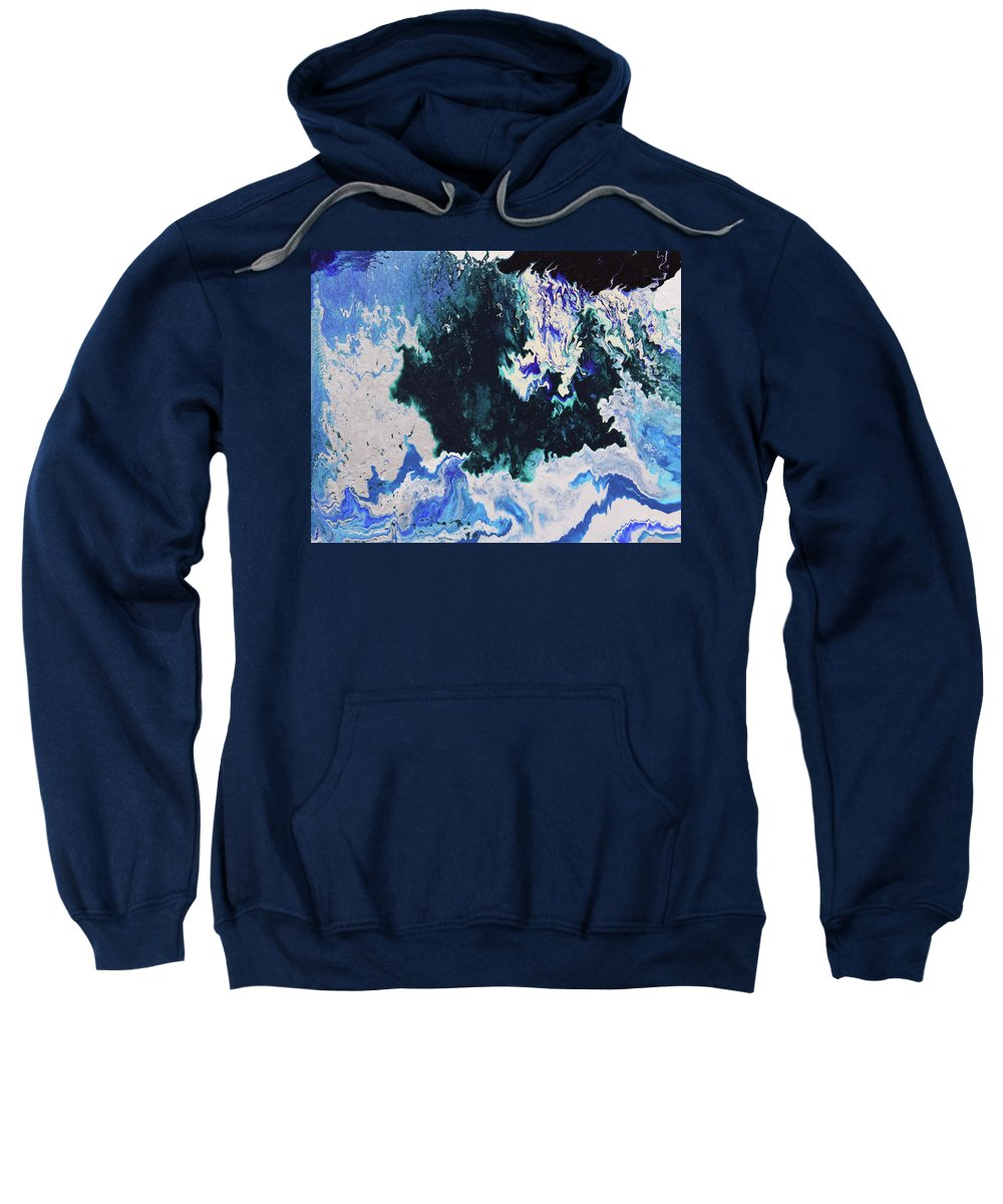 Fusionart Sweatshirt featuring the painting North Shore by Ralph White