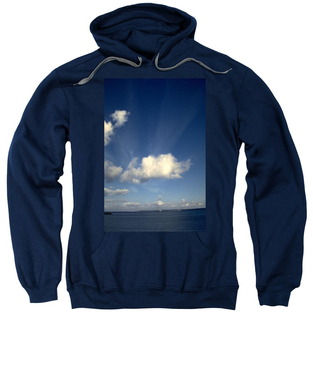 Northern Sky Sweatshirt featuring the photograph Northern Sky by Flavia Westerwelle