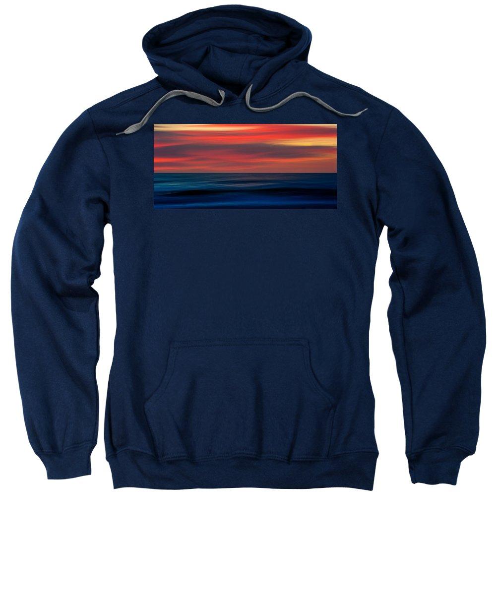 Ocean Sweatshirt featuring the photograph Ocean-803 by Doug McIntosh