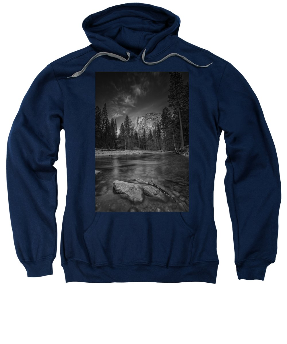Half Dome Sweatshirt featuring the photograph Ode To Ansel Adams by Rick Berk