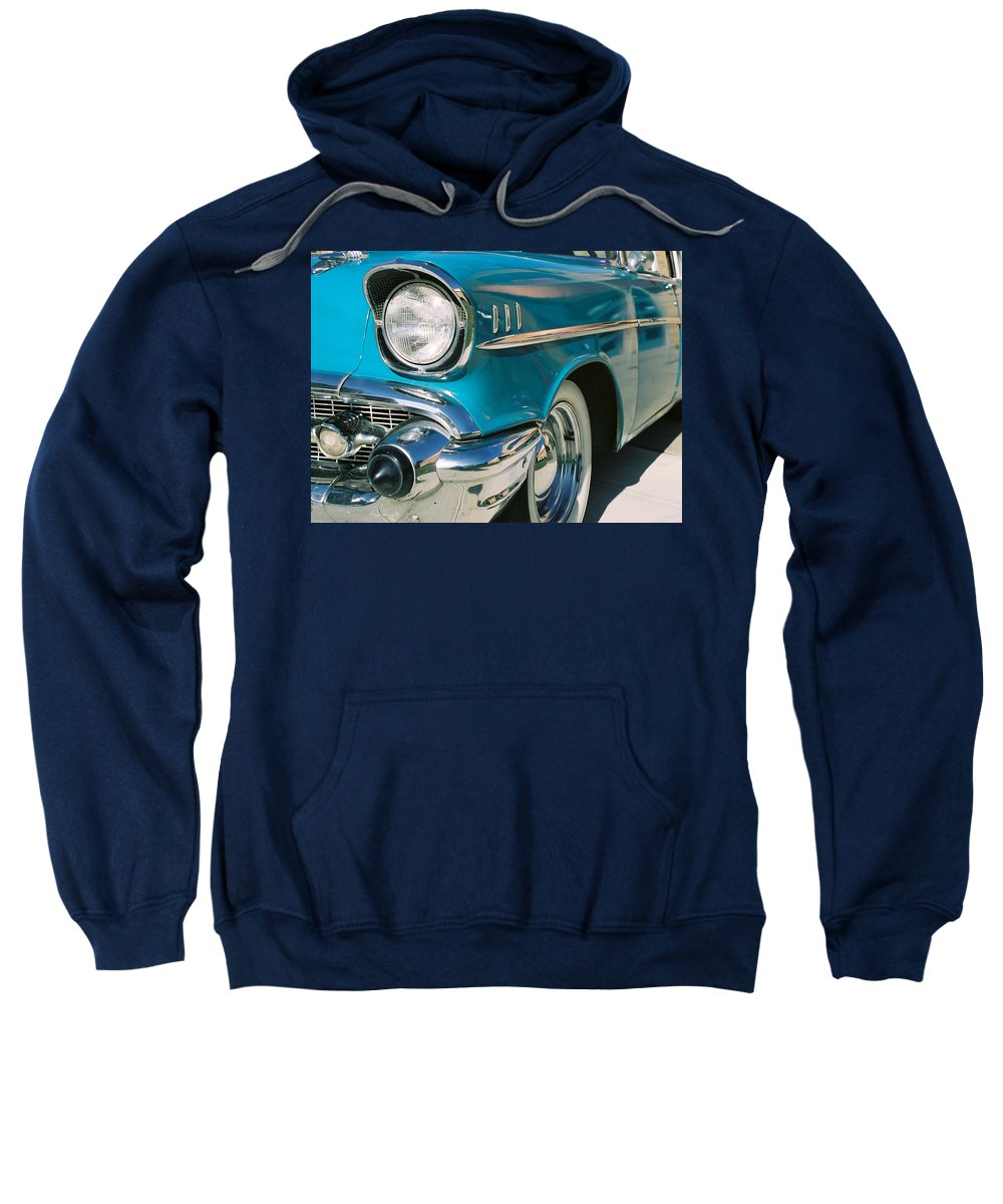 Chevy Sweatshirt featuring the photograph Old Chevy by Steve Karol