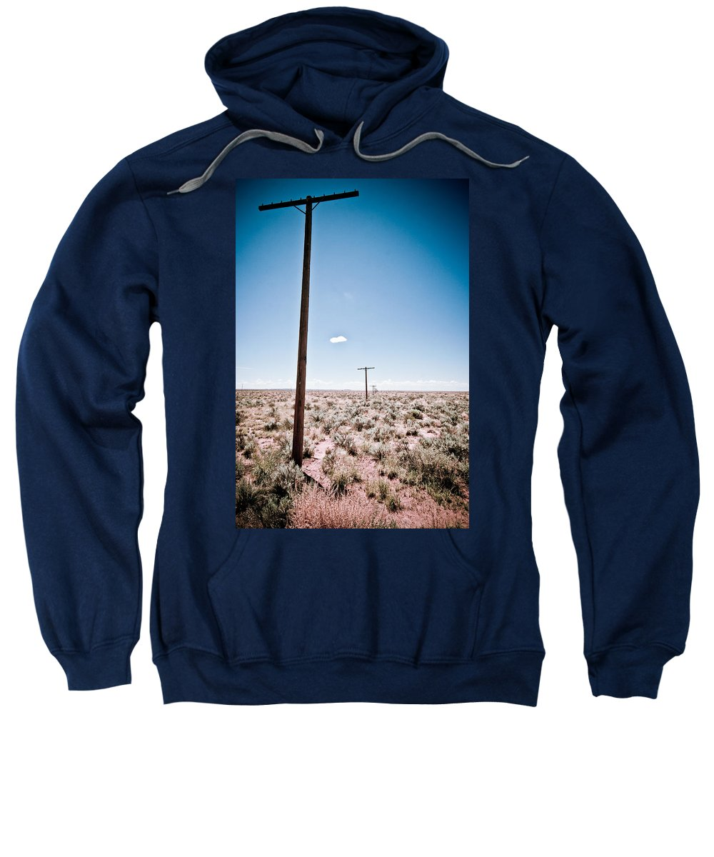 Route 66 Sweatshirt featuring the photograph Old Route 66 #6 by Robert J Caputo
