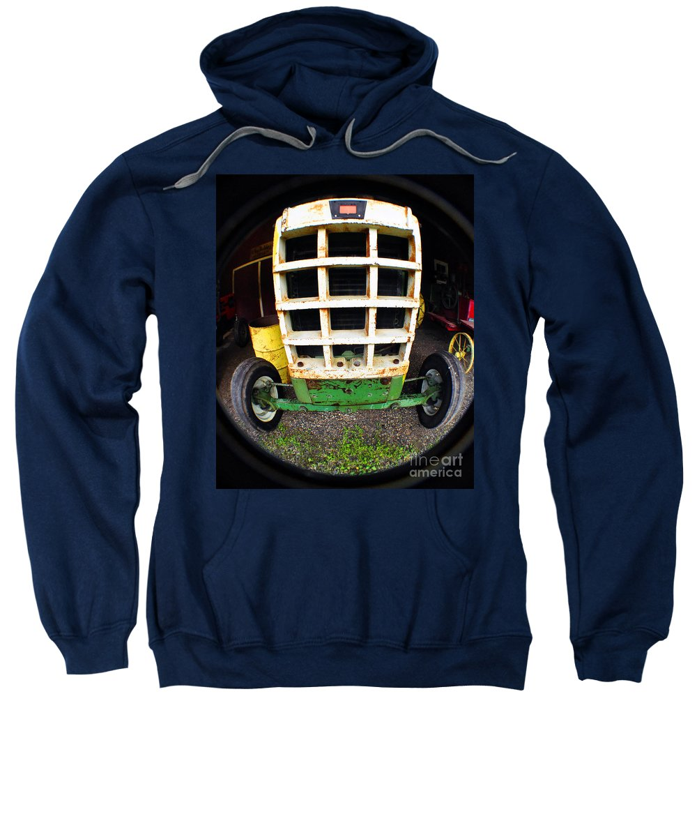 Clay Sweatshirt featuring the photograph Old Tractor by Clayton Bruster