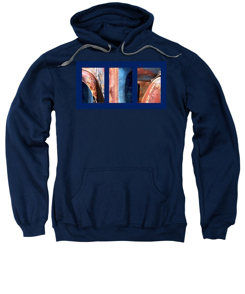 Abstract Sweatshirt featuring the photograph Ole Bill by Steve Karol