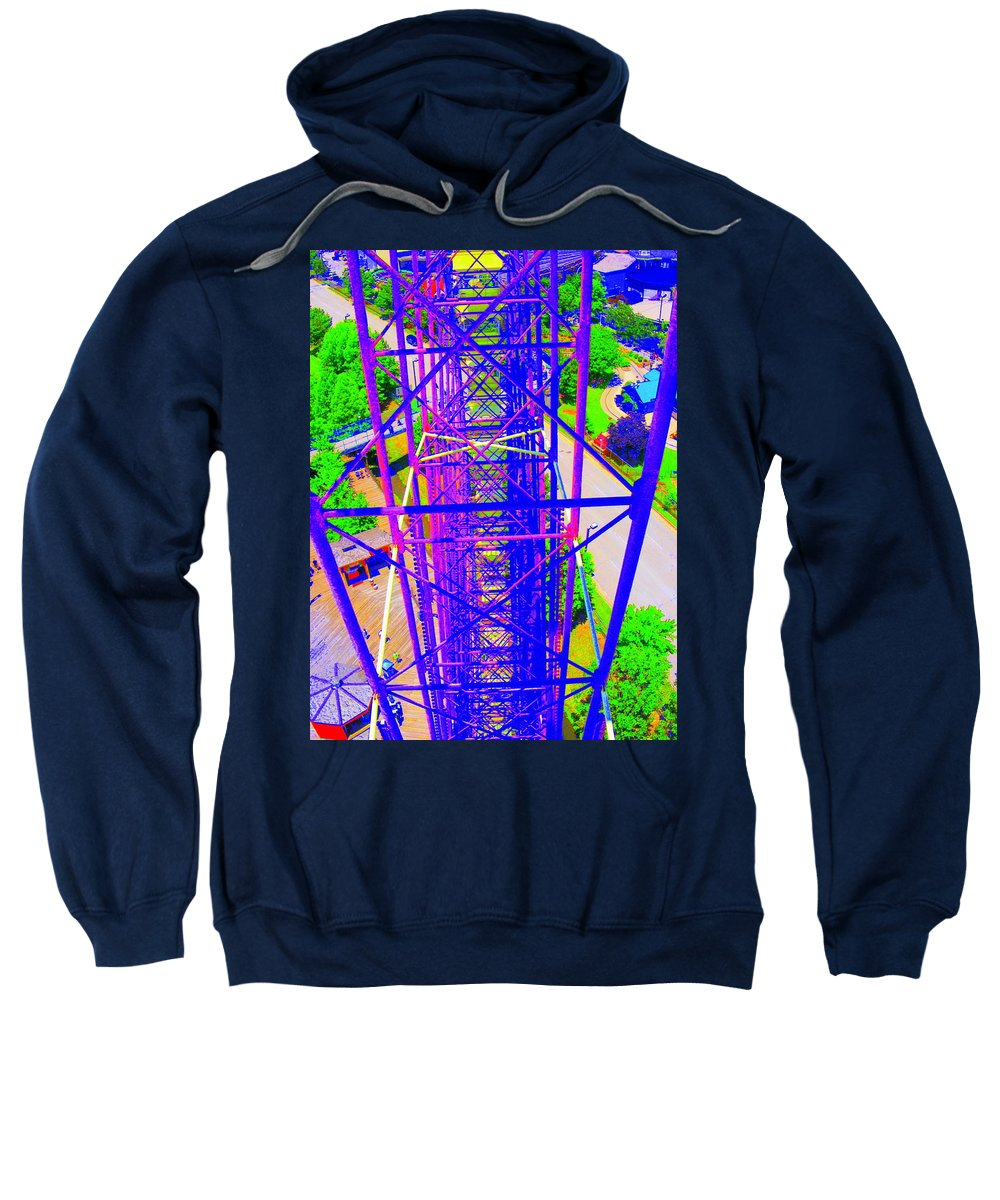 Still Life Sweatshirt featuring the photograph On Top Of The World by Ed Smith