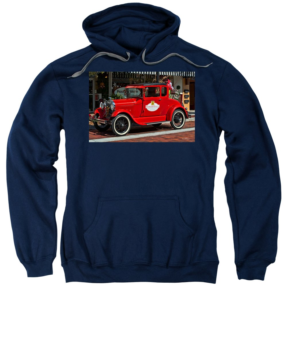 Christmas Sweatshirt featuring the photograph Packed For Christmas by Christopher Holmes