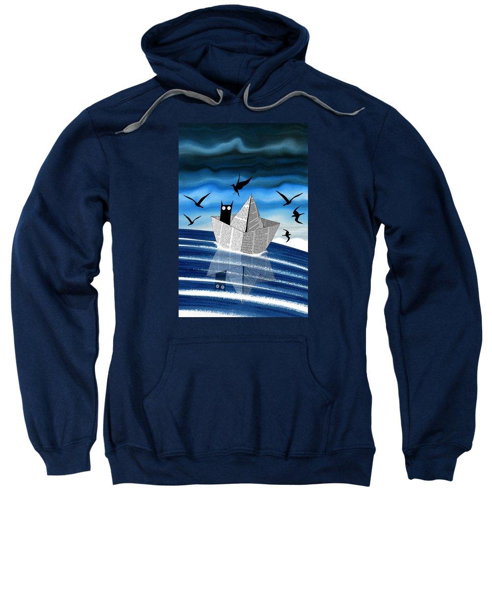 Boat Silhouette Sweatshirts