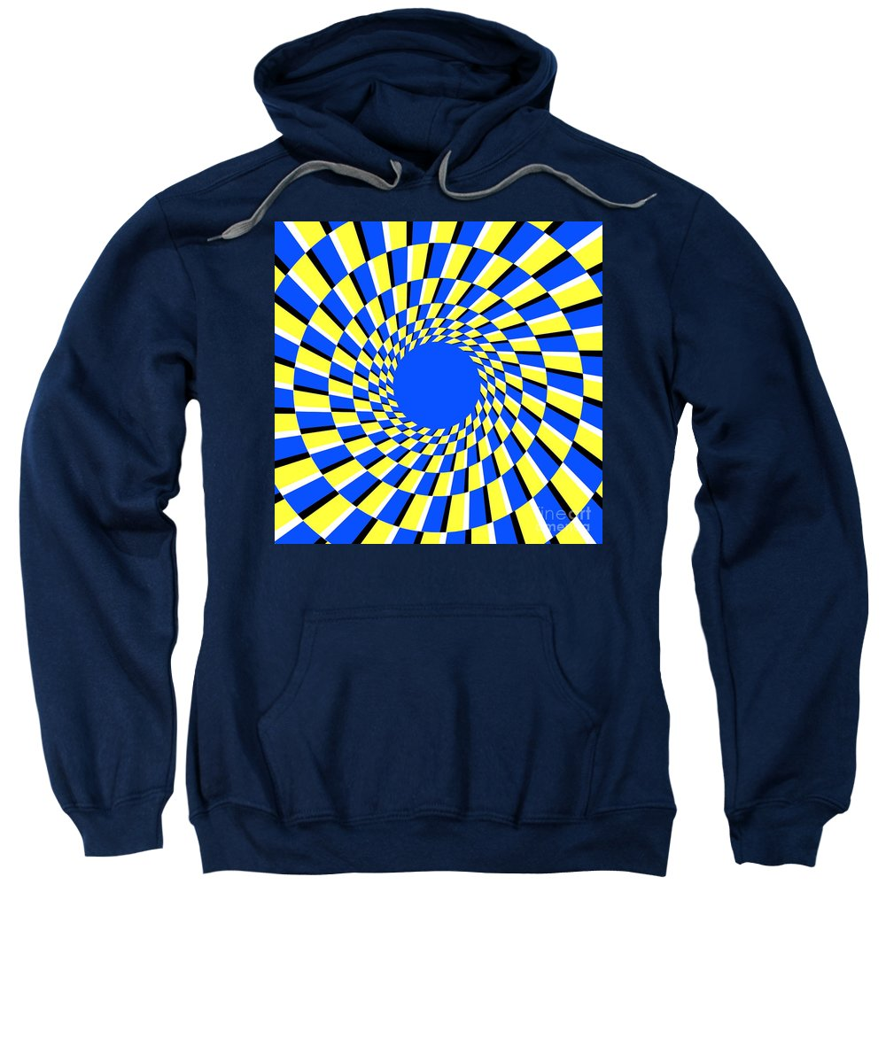 Illusions Sweatshirt featuring the photograph Peripheral Drift Illusion by SPL and Photo Researchers