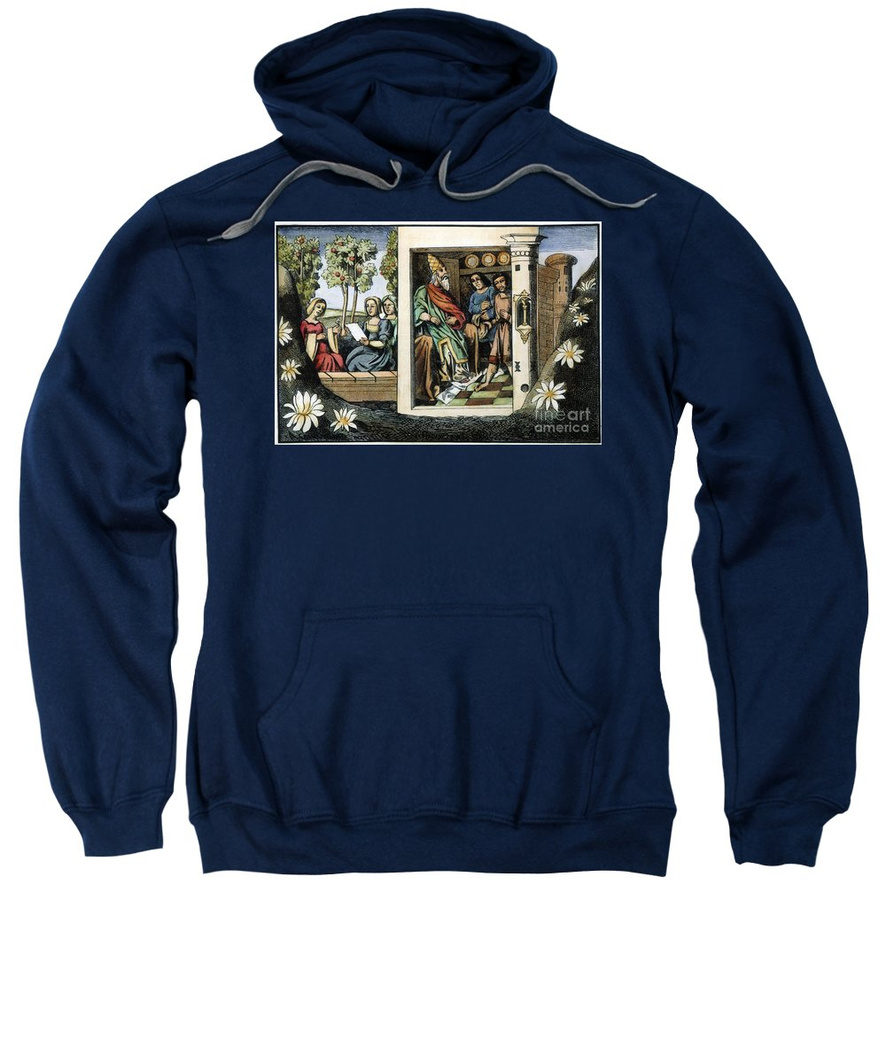 15th Century Sweatshirt featuring the photograph Persian Assassins by Granger