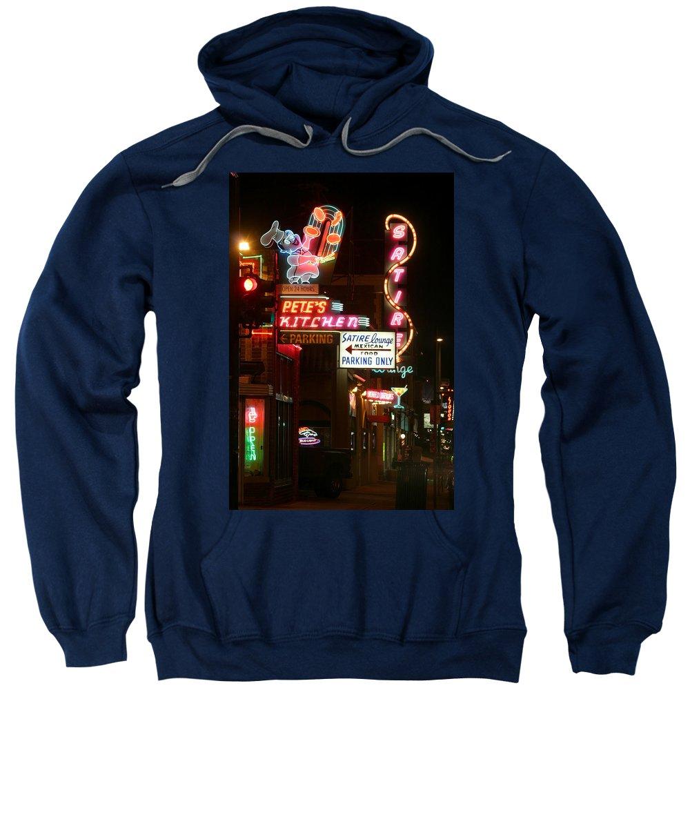 Pete's Sweatshirt featuring the photograph Pete's Kitchen by Jeffery Ball