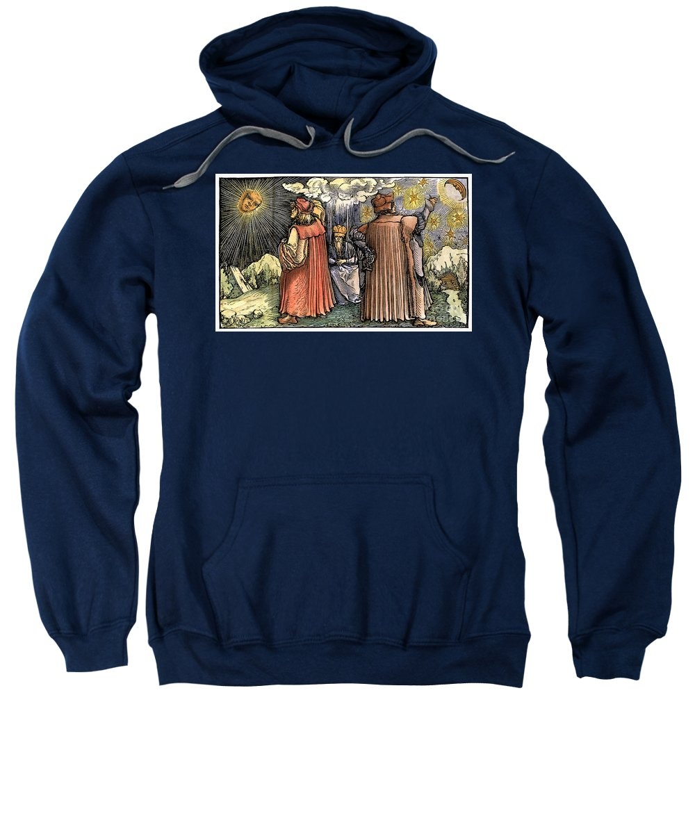 1537 Sweatshirt featuring the photograph Planetary Systems by Granger