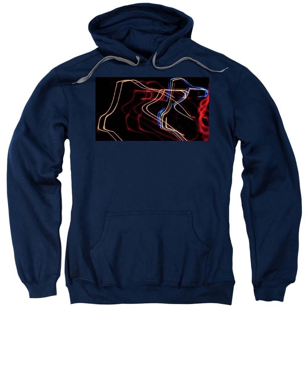 Photography Sweatshirt featuring the photograph Police by Steven Natanson