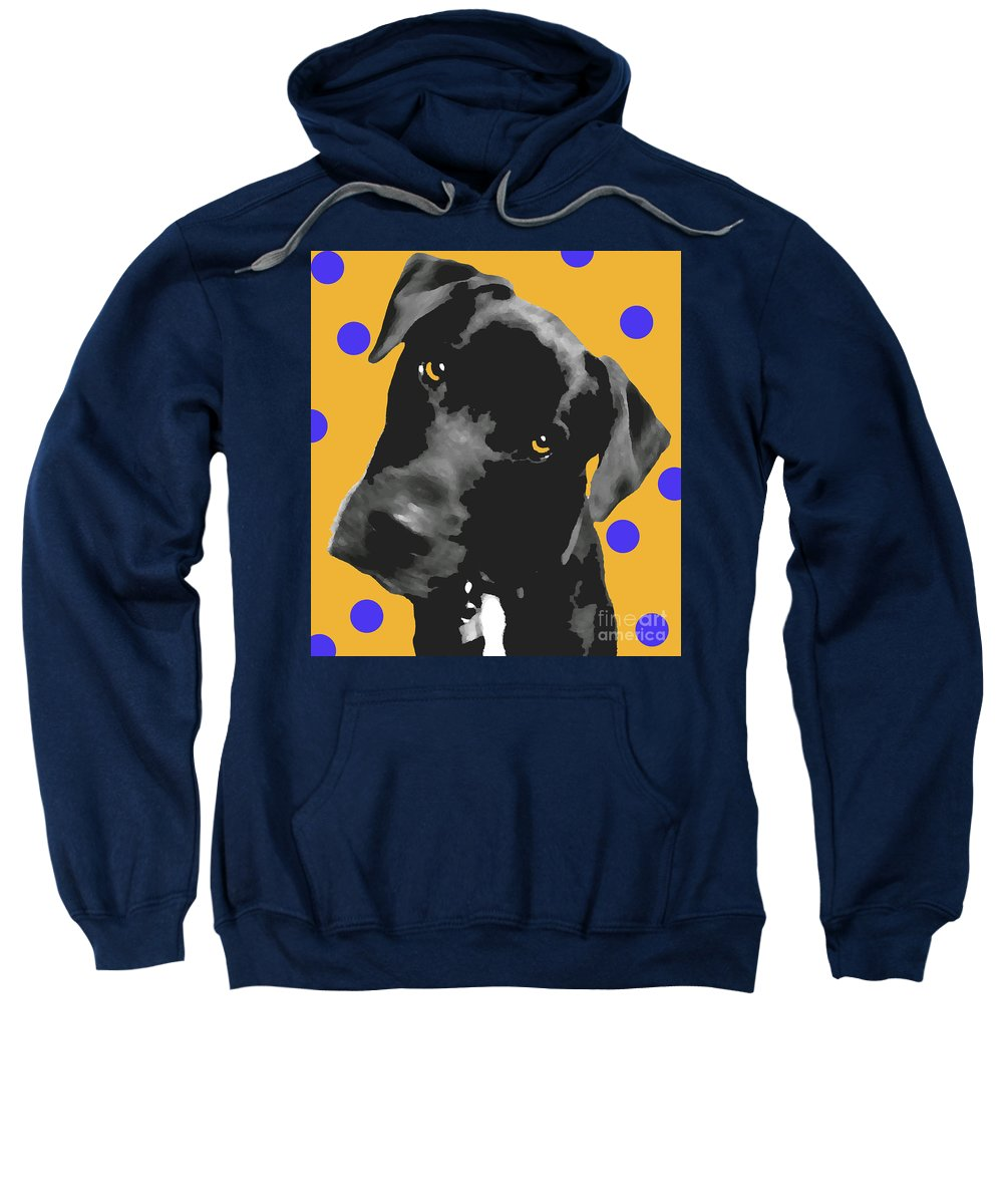 Dogs Sweatshirt featuring the photograph Polka Dot by Amanda Barcon