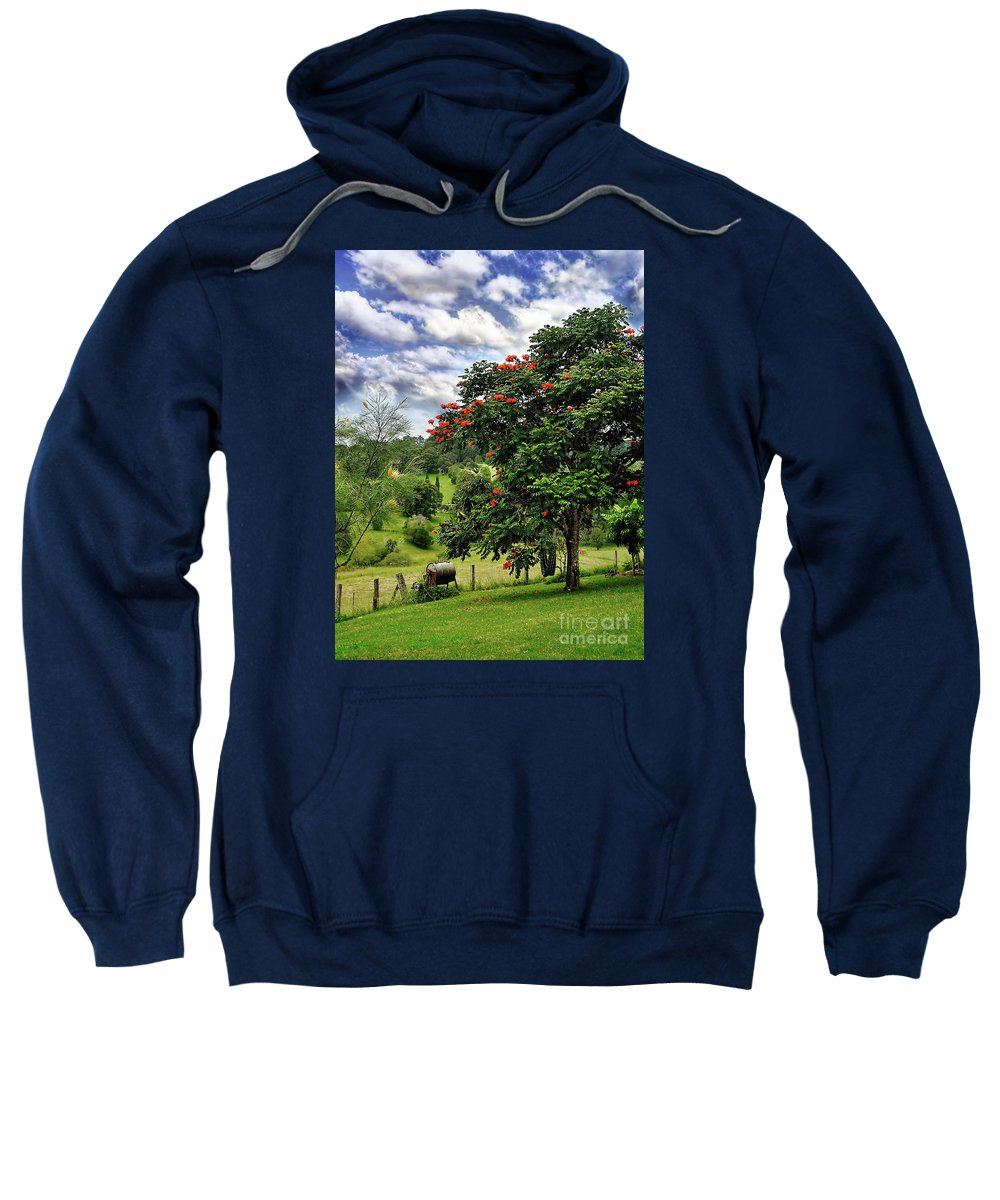 Photography Sweatshirt featuring the photograph Pretty Countryside by Kaye Menner