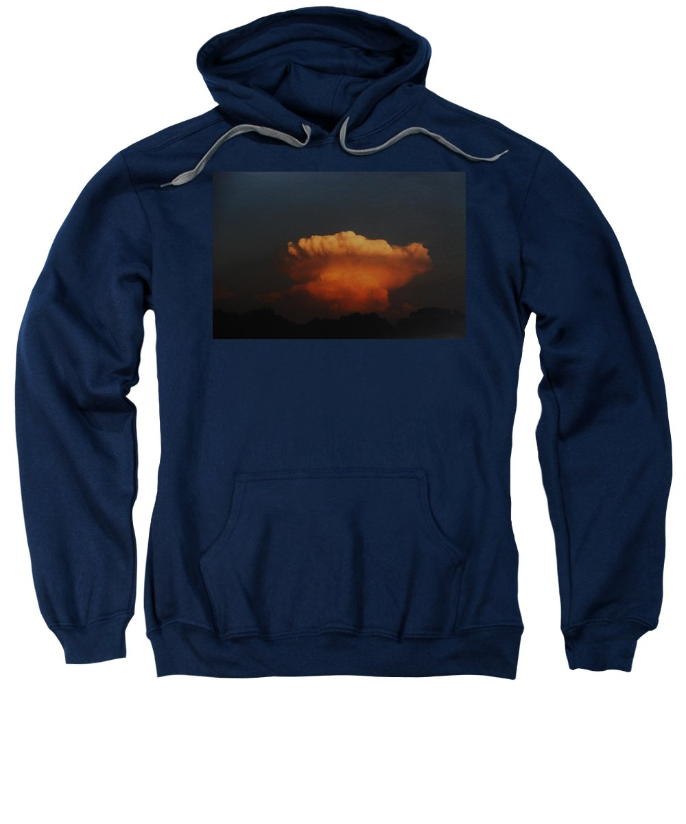 Clouds Sweatshirt featuring the photograph Red Cloud by Rob Hans