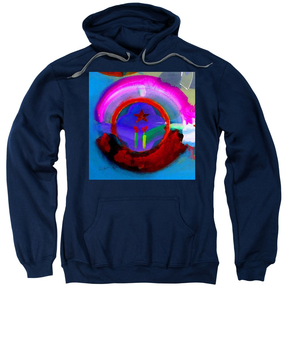 Love Sweatshirt featuring the painting Regeneration by Charles Stuart