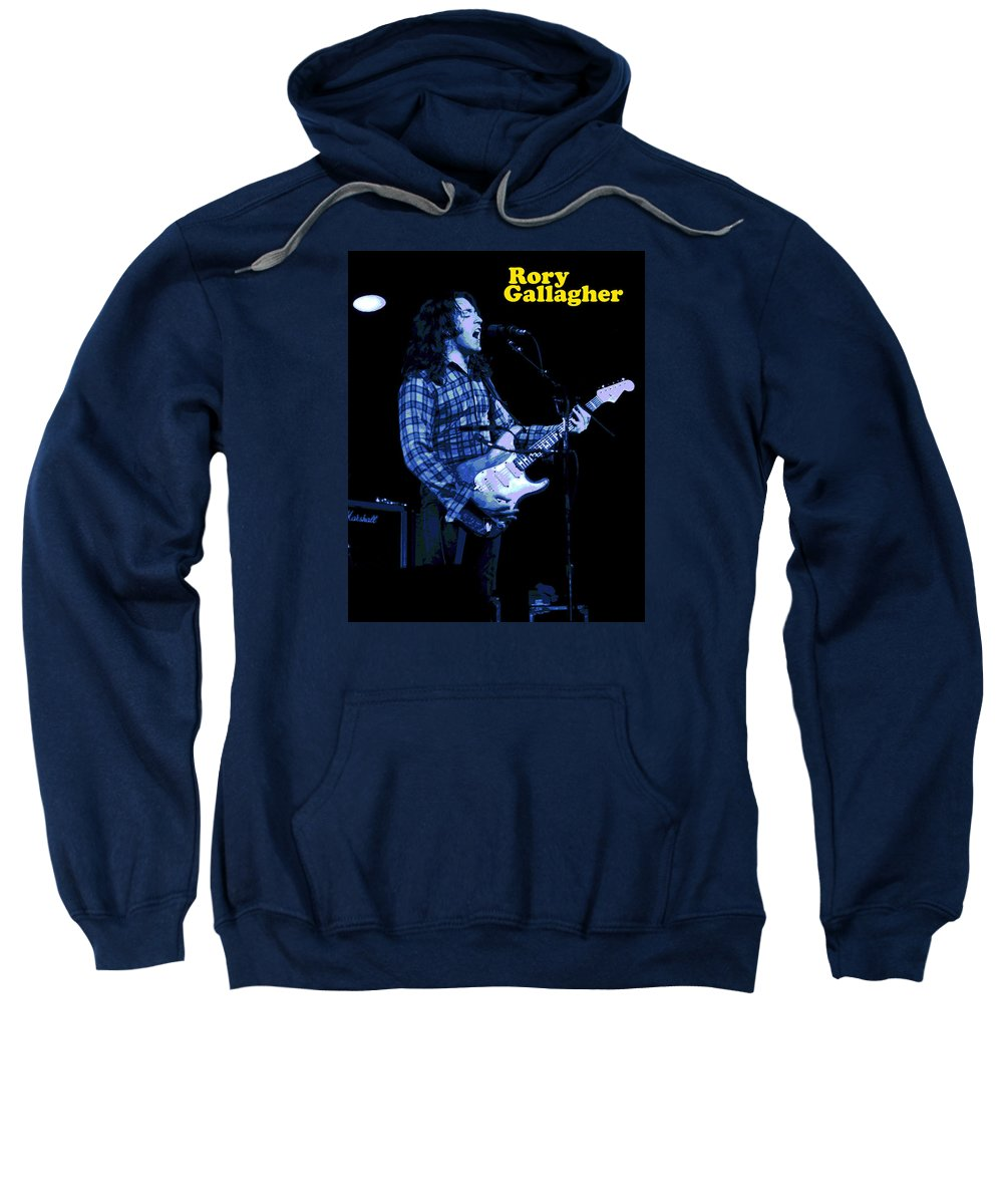 Rock Musicians Sweatshirt featuring the photograph R G In Kent 2 by Ben Upham