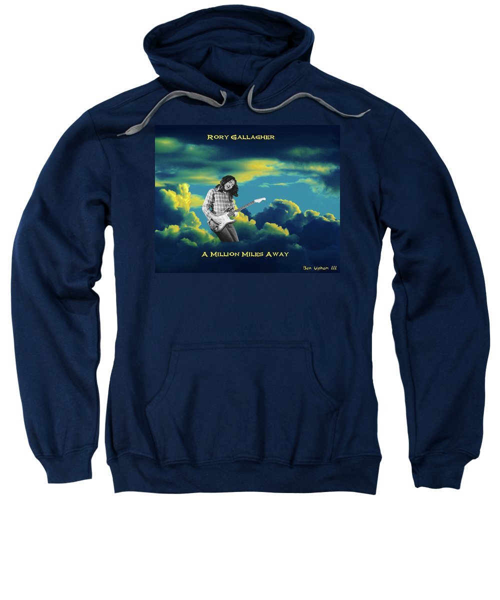 Rock Musicians Sweatshirt featuring the photograph Million Miles Away by Ben Upham