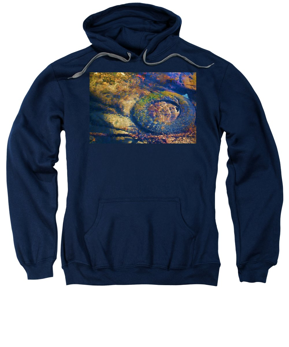 Pollution Sweatshirt featuring the photograph Rubber Fish by Mike Smale