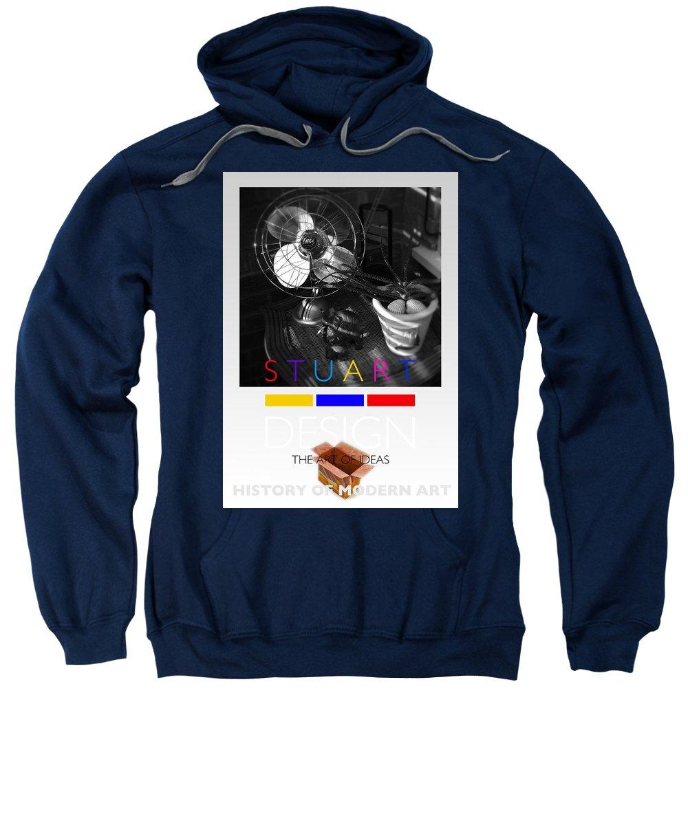 De Stijl Sweatshirt featuring the photograph Safari Poster by Charles Stuart