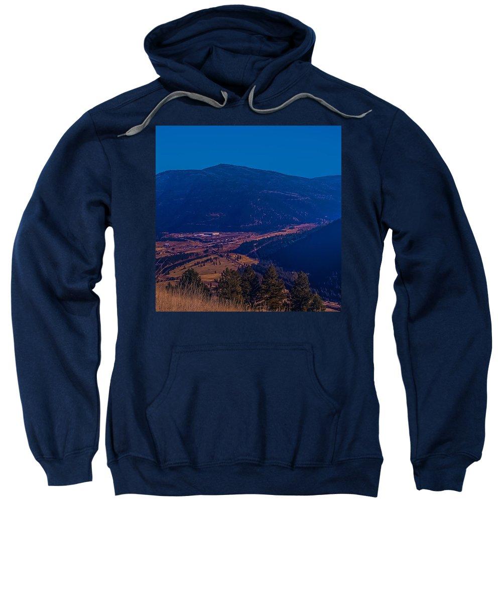 Sweatshirt featuring the photograph Satirical Scene by Dan Hassett