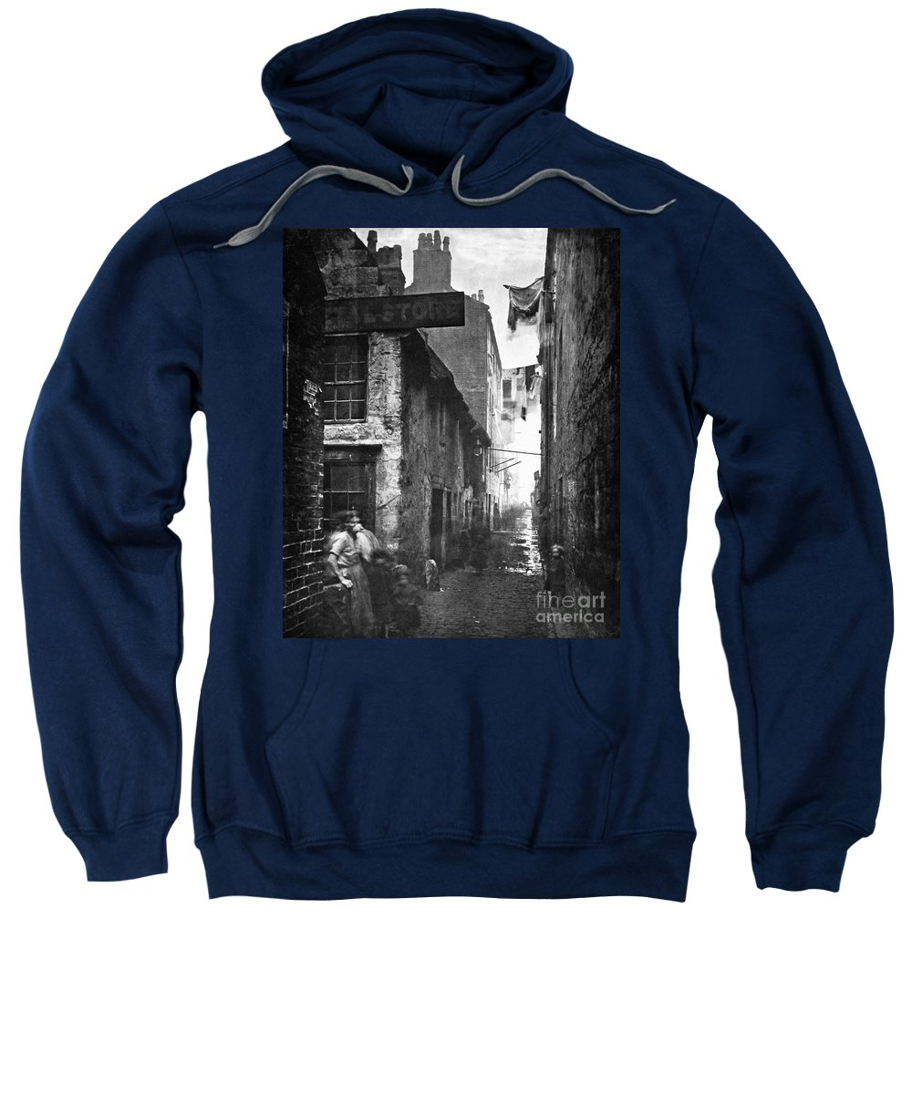 1868 Sweatshirt featuring the photograph Scotland: Glasgow, 1868 by Granger