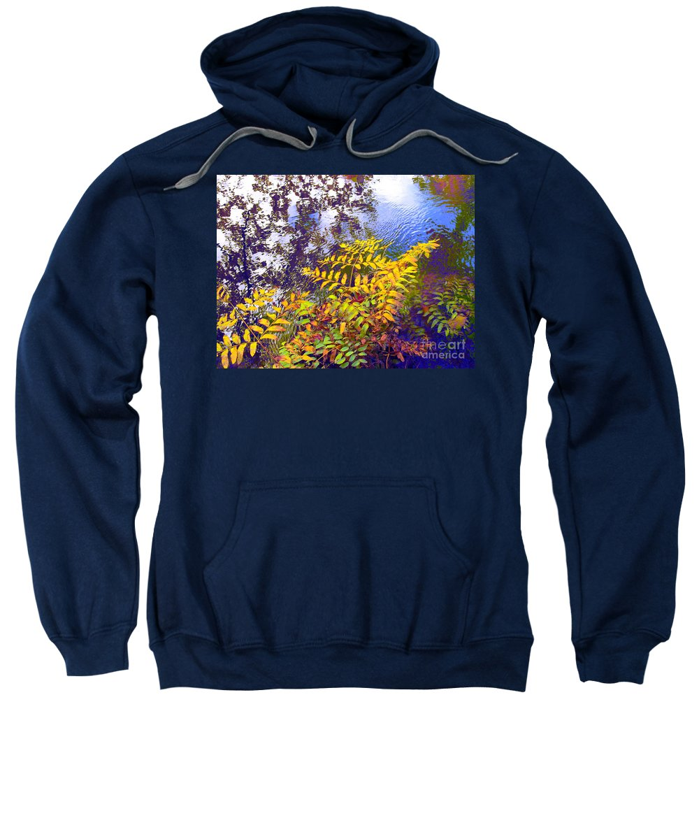 Water Sweatshirt featuring the photograph Shake It Off by Sybil Staples
