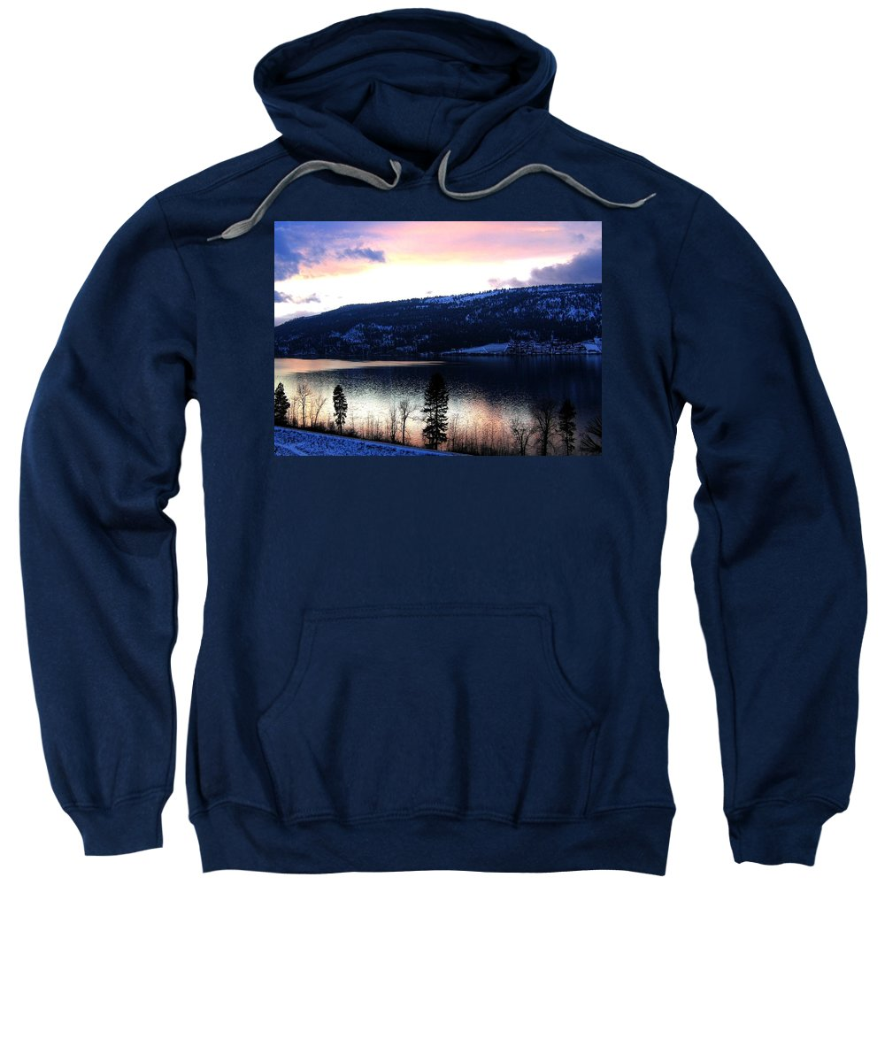 Wood Lake Sweatshirt featuring the photograph Shimmering Waters by Will Borden