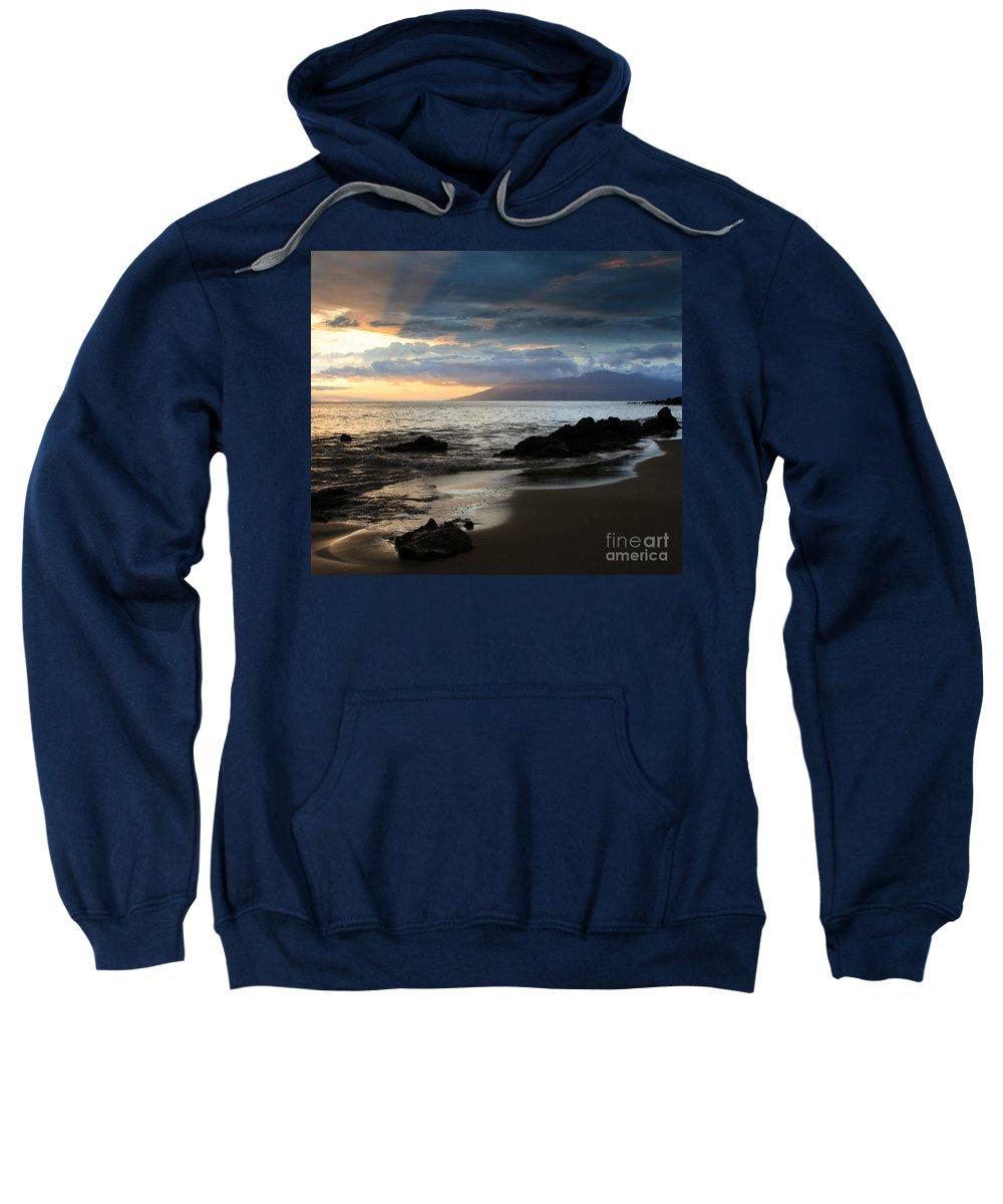 Aloha Sweatshirt featuring the photograph Silence Of Devotion by Sharon Mau