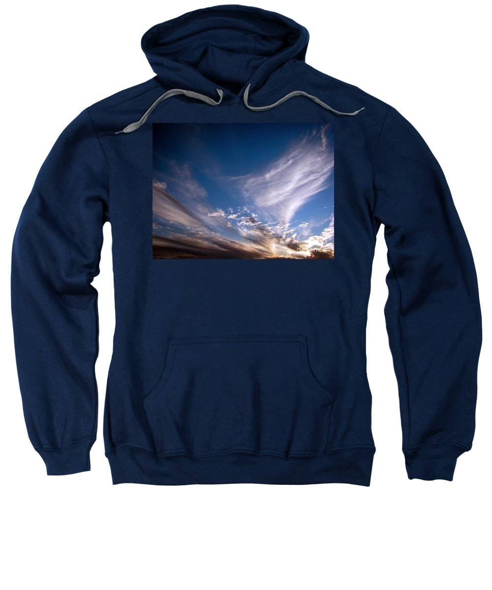 Skies Sweatshirt featuring the photograph Sky by Amanda Barcon