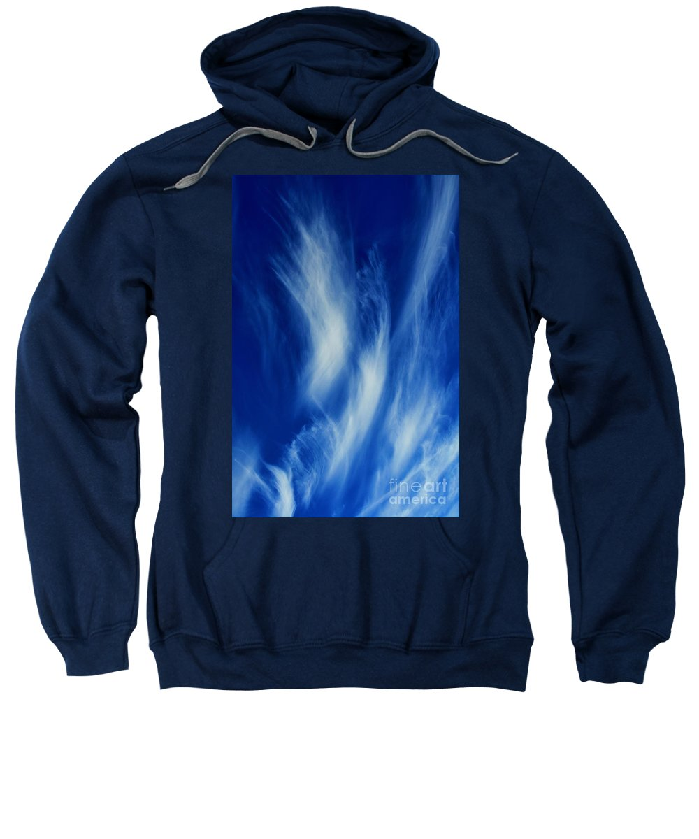 Clay Sweatshirt featuring the photograph Sky Sculpting by Clayton Bruster