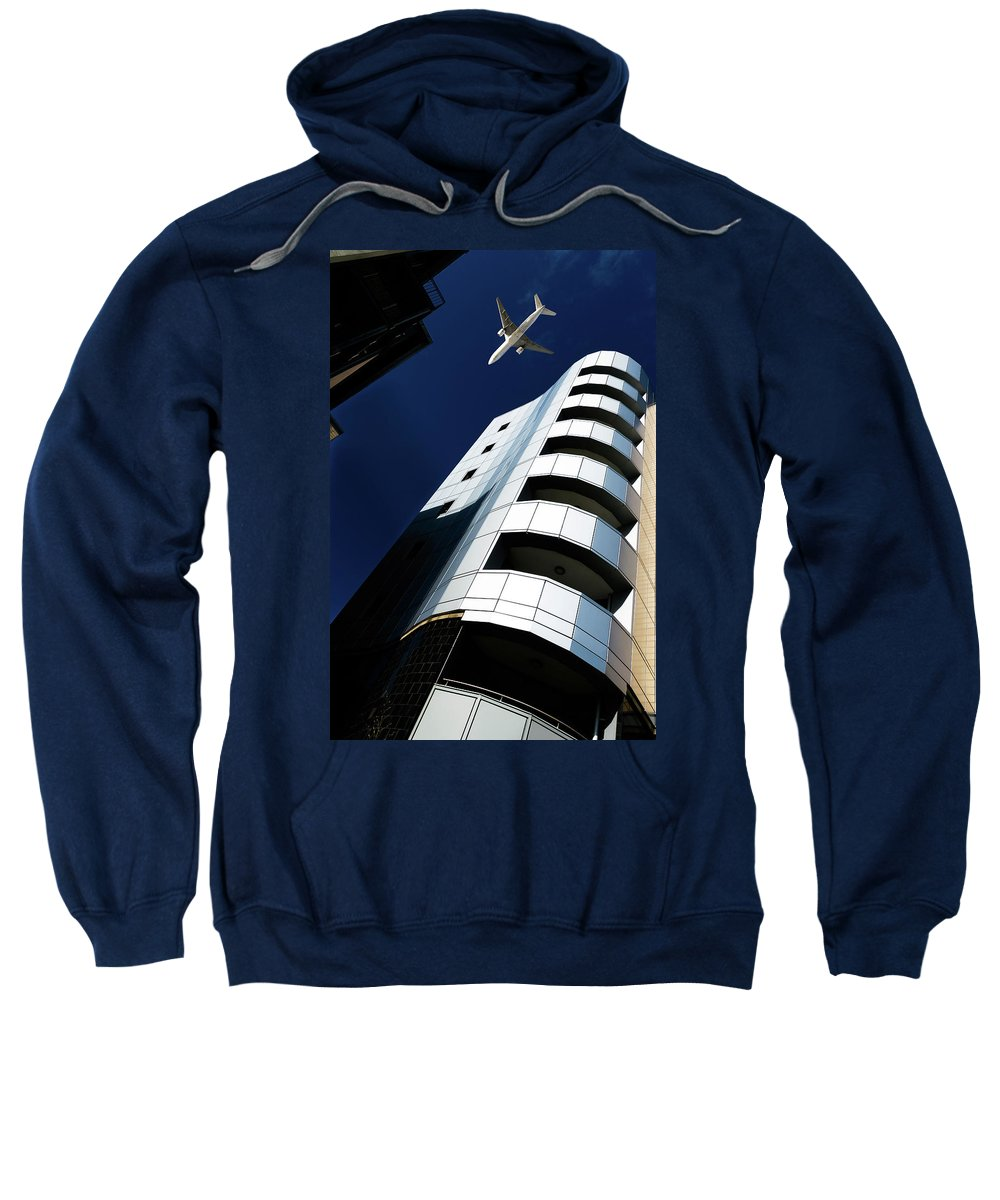 Apartments Sweatshirt featuring the photograph Skyline by David Cameron