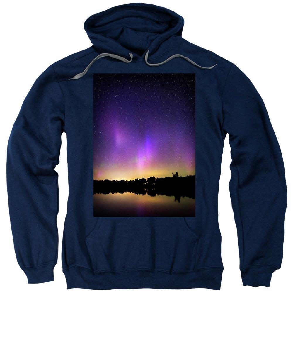 Nature Sweatshirt featuring the photograph Sleep Well by Brandon Rosburg