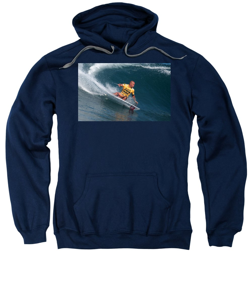 Kelly Slater Sweatshirt featuring the photograph Smooth Operator by Kevin Smith