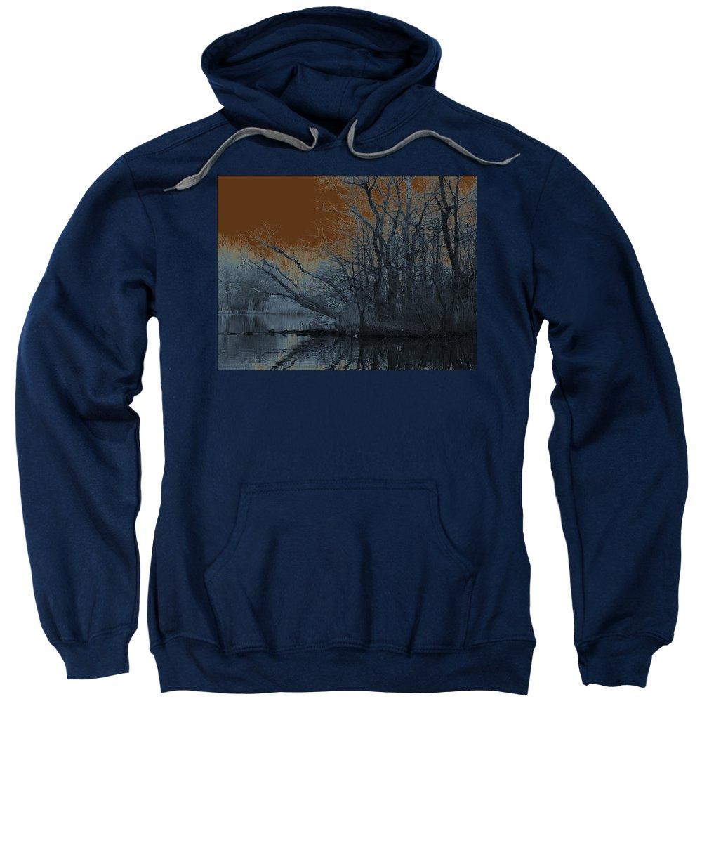 Solarization Sweatshirt featuring the photograph Solarization by Kendall Eutemey