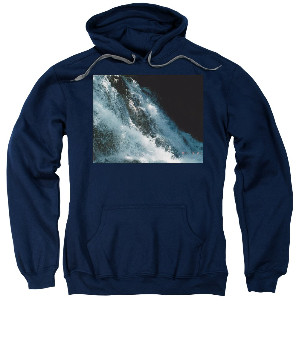 Water Sweatshirt featuring the photograph Splash by Michelle Powell