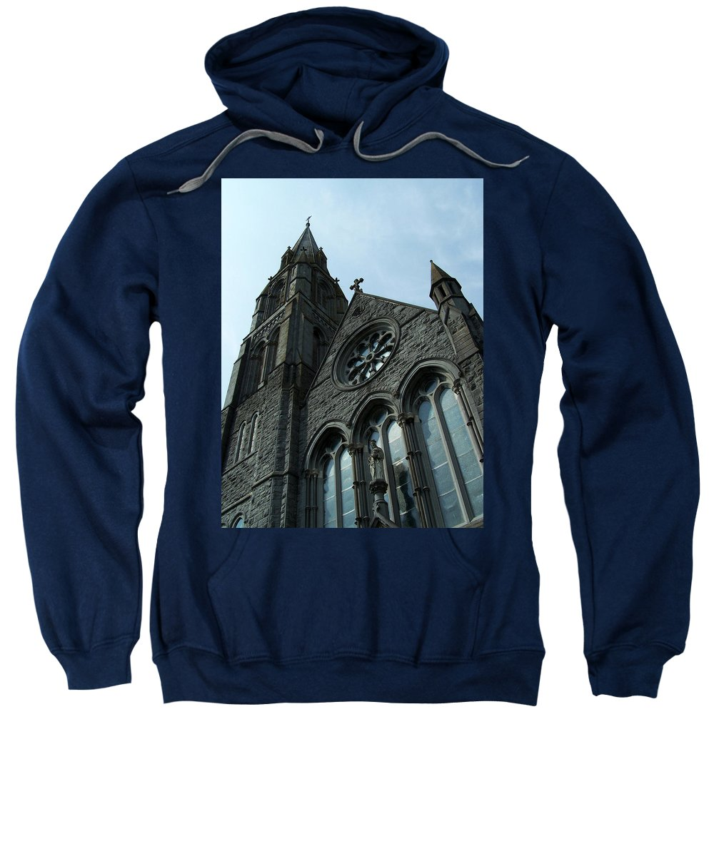 Ireland Sweatshirt featuring the photograph St. Mary's Of The Rosary Catholic Church by Teresa Mucha