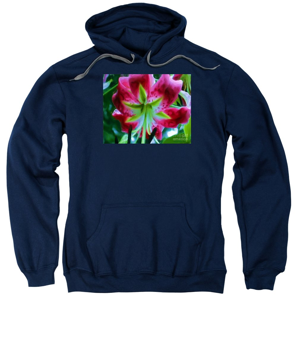 Fine Art Photography Sweatshirt featuring the photograph Stargazer by Patricia Griffin Brett