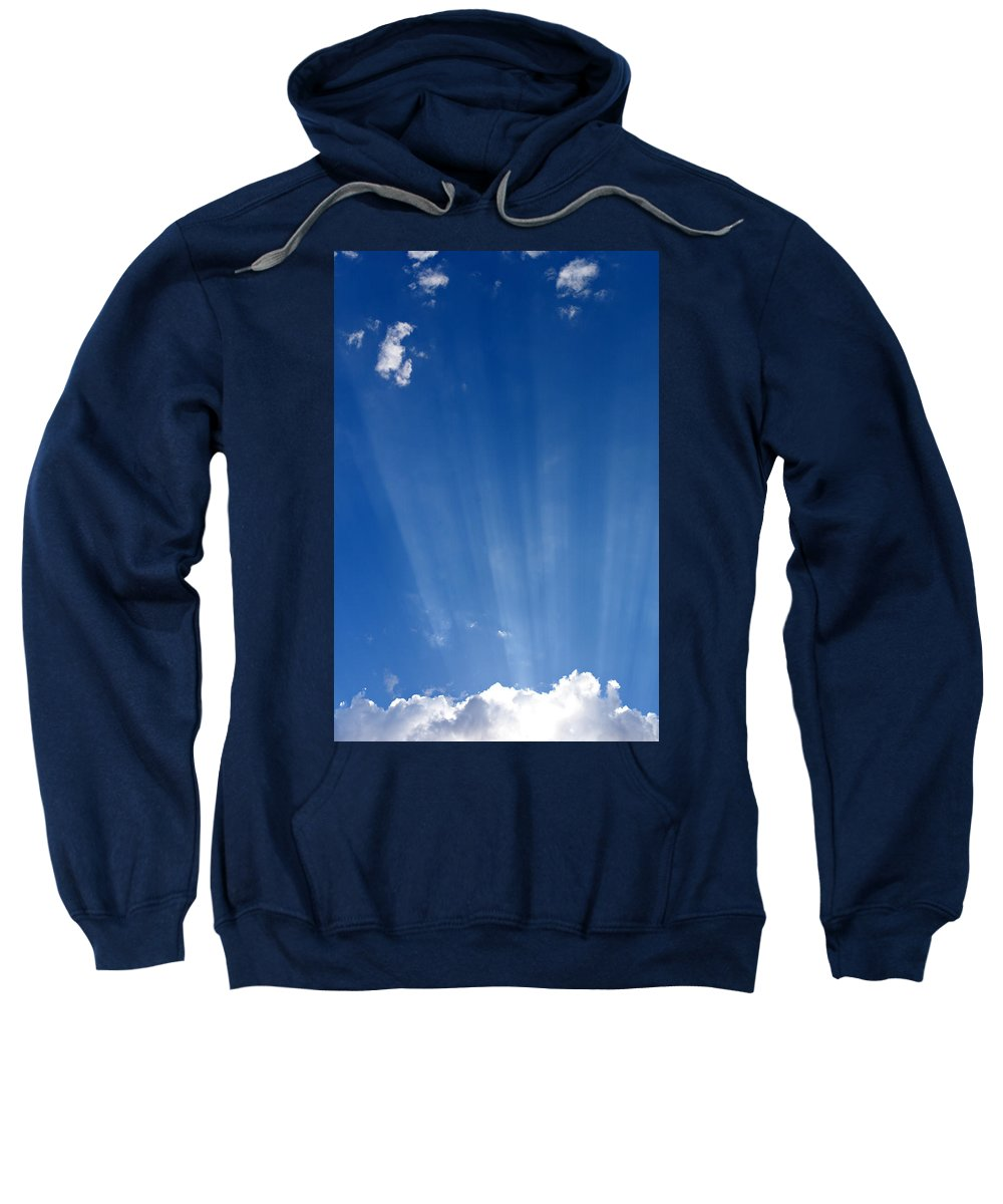 Sun Ray Sweatshirt featuring the photograph Sun Ray's by Scott Sawyer