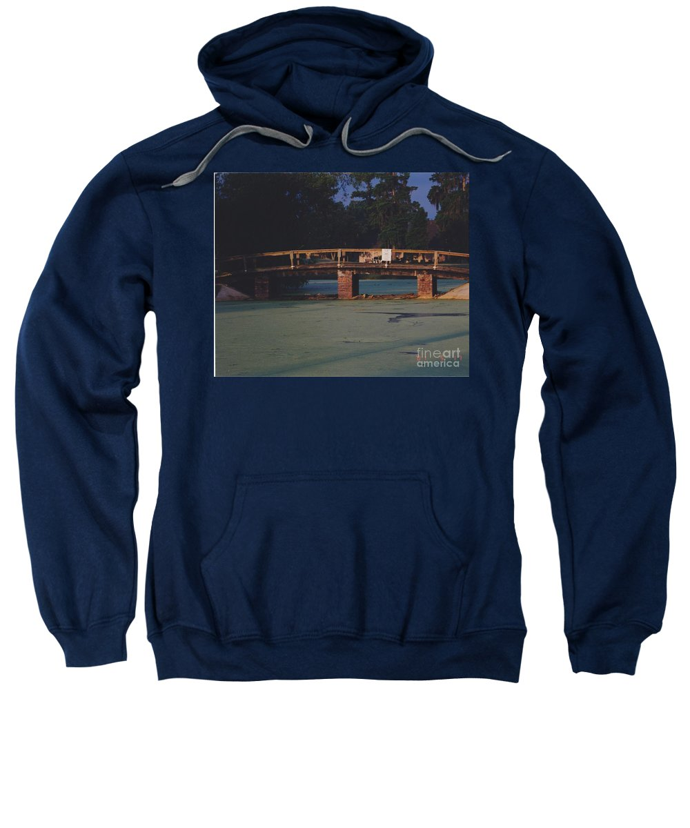 Bridge Sweatshirt featuring the photograph Swamp Bridge by Michelle Powell