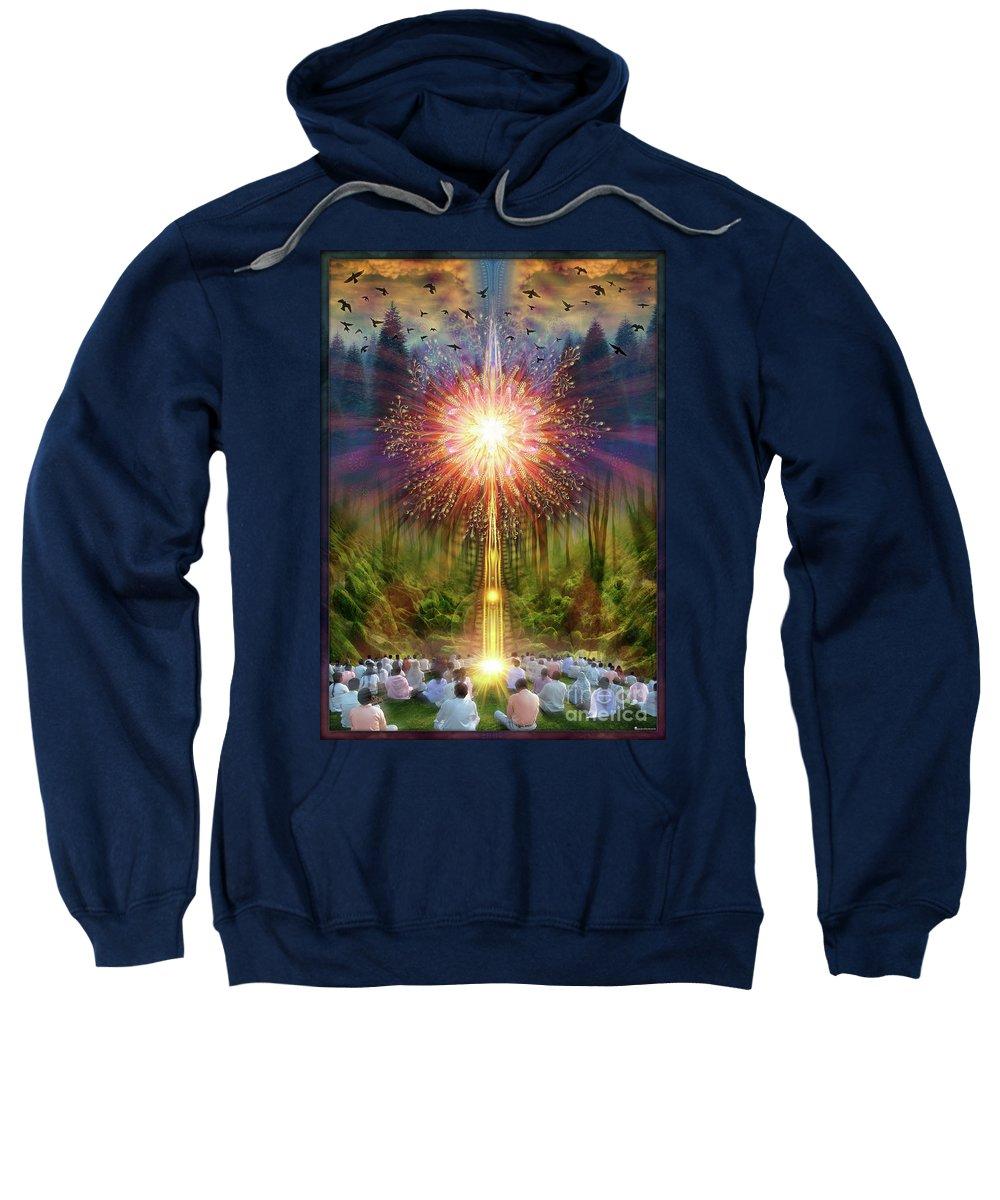 Flower Sweatshirt featuring the photograph SymphonoPhobia Grounding by Leonard Rubins